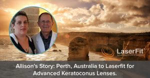 Allison Australia to Texas for keratoconus lenses