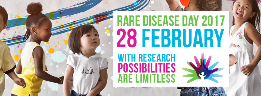 Rare Disease Day Laserfit Banner