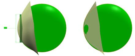 shape analysis via reference sphere
