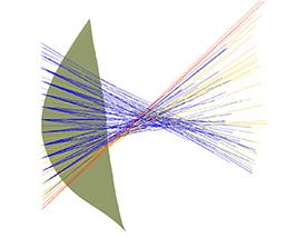Sub-Optimal wavefront phase conjugation